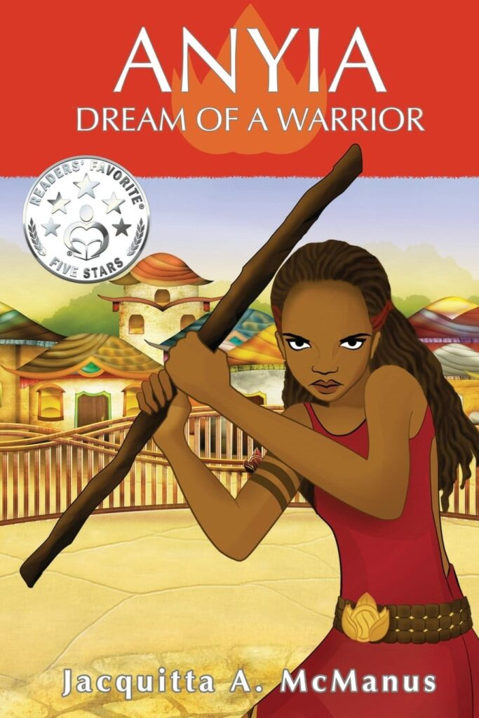 Book Cover: Anyia Dream of a Warrior