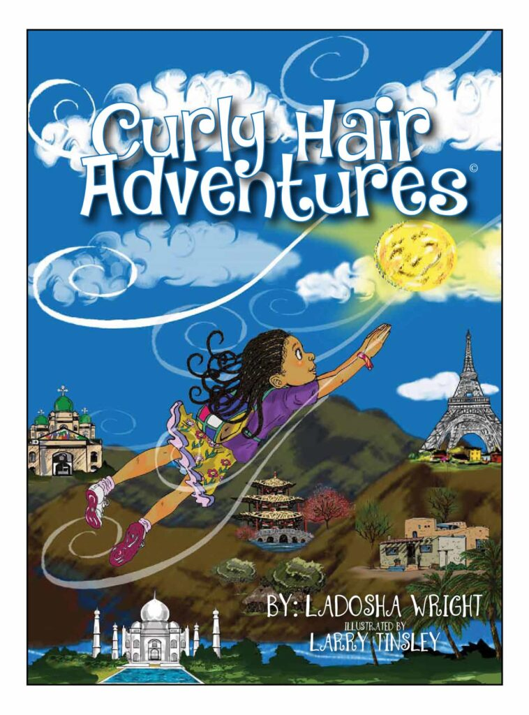 Book Cover: Curly Hair Adventures