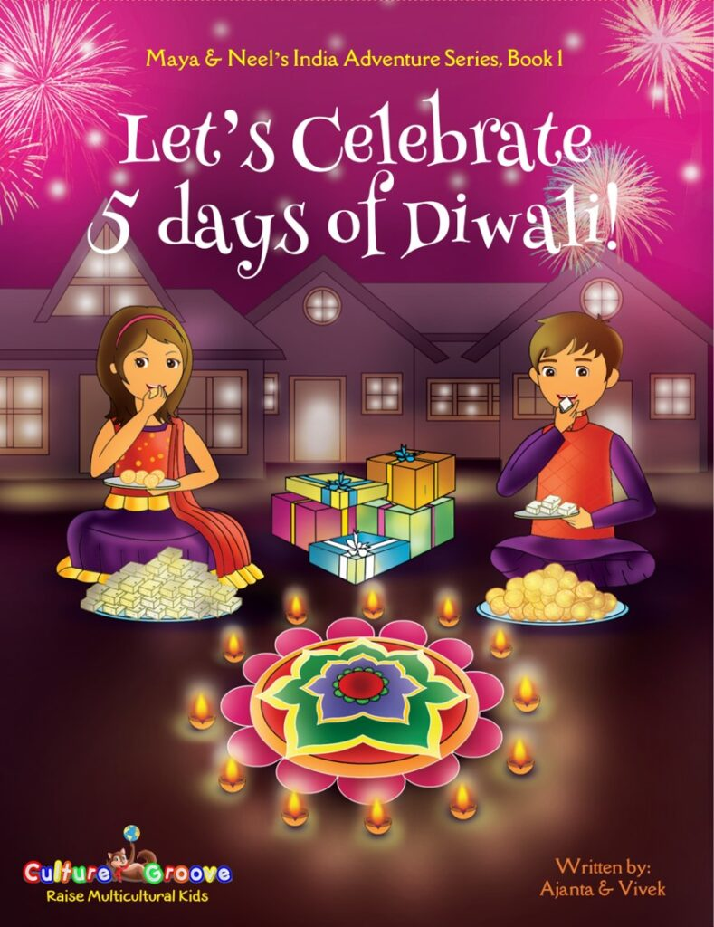 Book Cover: Let's Celebrate 5 Days of Diwali!