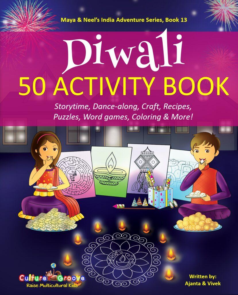 Book Cover: Diwali 50 Activity Book!