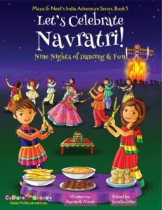 Book Cover: Let's Celebrate Navratri!