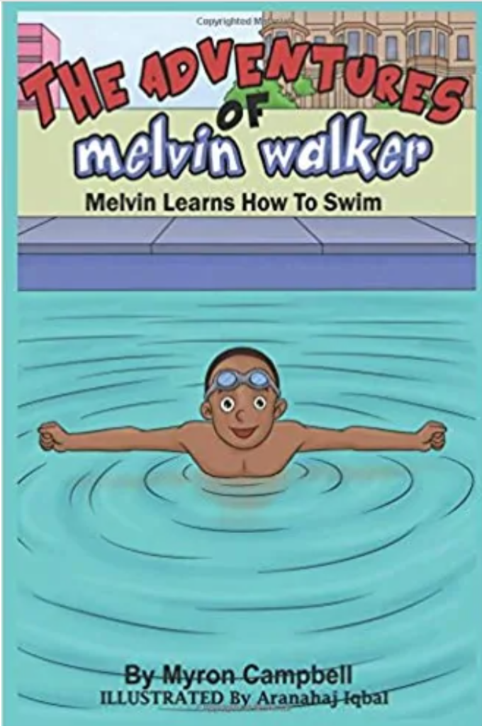 Book Cover: Melvin Learns to Swim