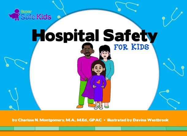Book Cover: Hospital Safety For Kids
