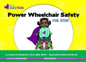 Book Cover: Power Wheelchair Safety For Kids