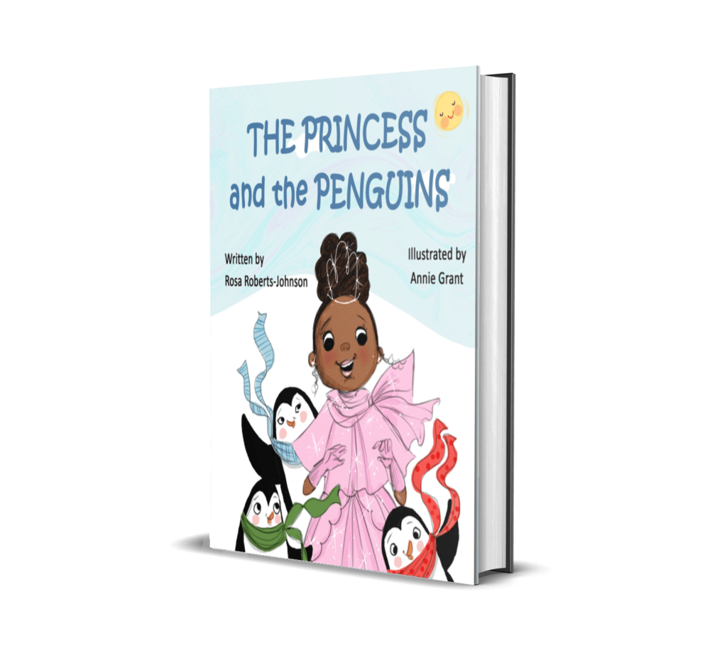 Book Cover: The Princess and the Penguins