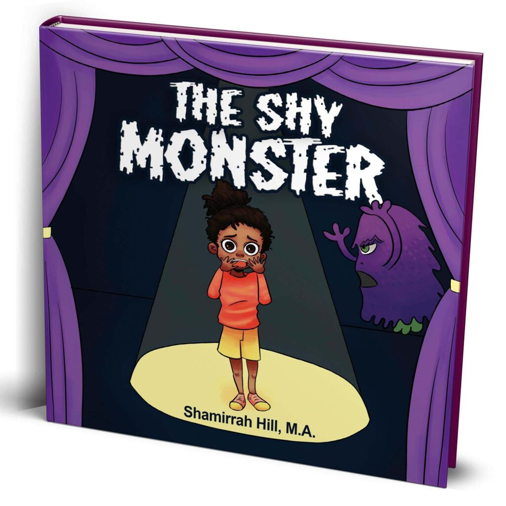 Book Cover: The Shy Monster