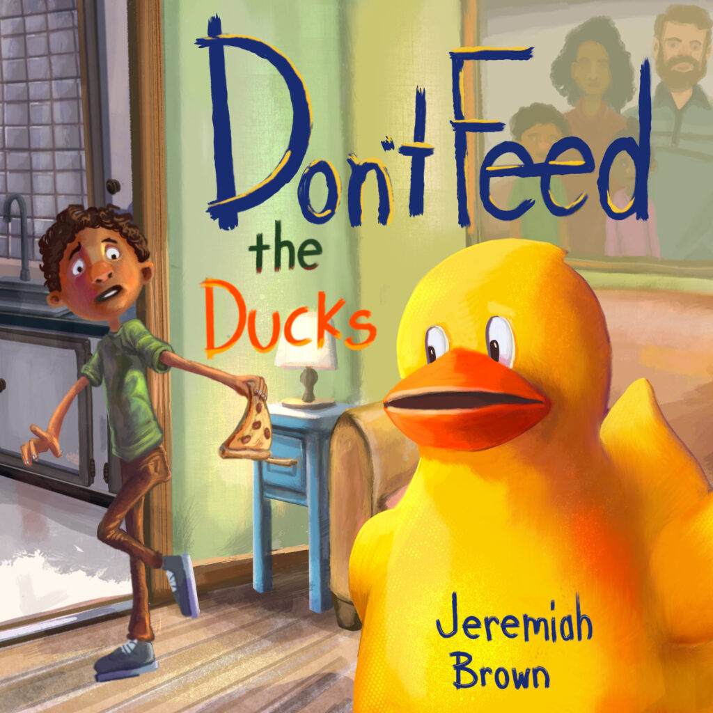 Book Cover: Don't Feed the Ducks