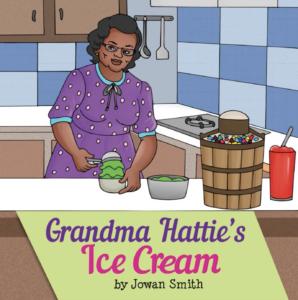 Book Cover: Grandma Hattie's Ice Cream